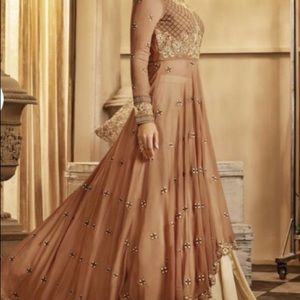 High-low Anarkali dress with Sharara (skirt) NEW!